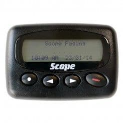 GEO28RCM USB rechargeable text pager