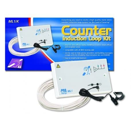 ML1/K  1.2m2 Double Gang Fixed Counter Induction Loop System