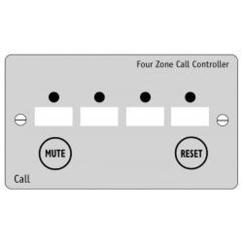 NC944/SS  FOUR ZONE CALL CONTROLLER, STAINLESS STEEL