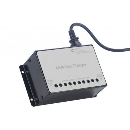 QT424/10 Ten-Way Charger for QT412 range of transmitters