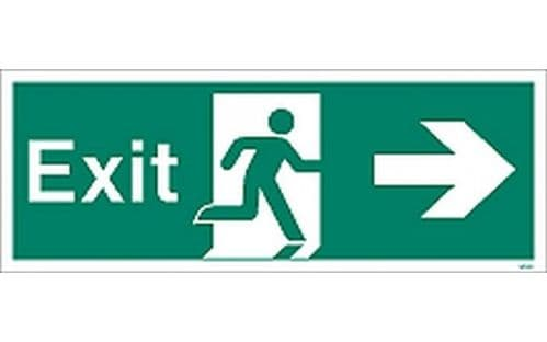 W405K - EXIT SIGN RIGHT