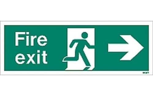 W435T - FIRE EXIT SIGN RIGHT.