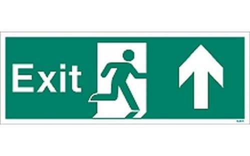 W446K - EXIT SIGN UP/FORWARDS