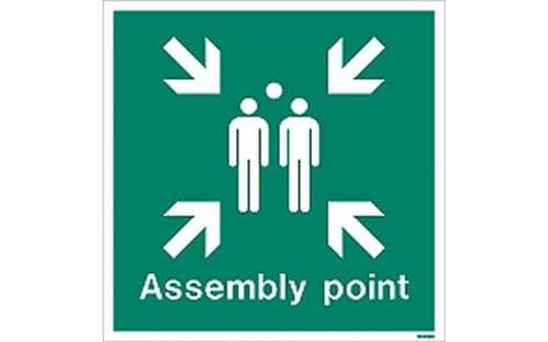 WX4128Q - ASSEMBLY POINT SIGN