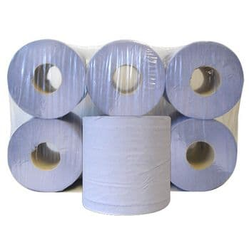 Blue Centrefeed Rolls 2 Ply