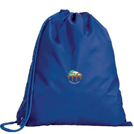 Harwood Hill Primary Embroidered PE Bag