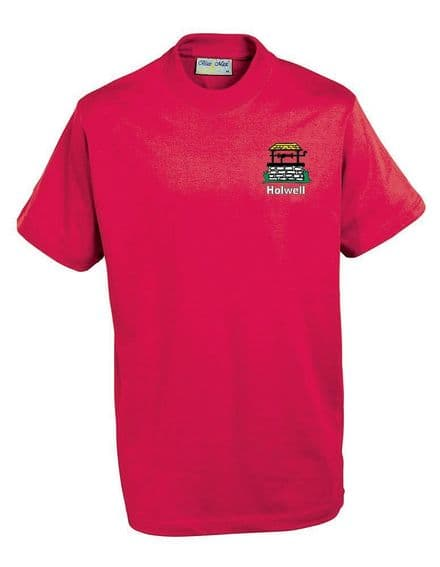 Holwell Red PE T-Shirt ( Reception to Year 6 )