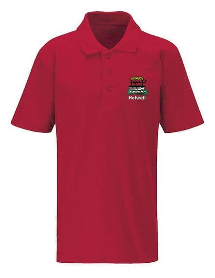 Holwell Red Polo ( Reception to Year 4 )