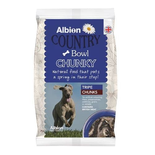 Albion Tripe Chunks 2kg Country Bowl