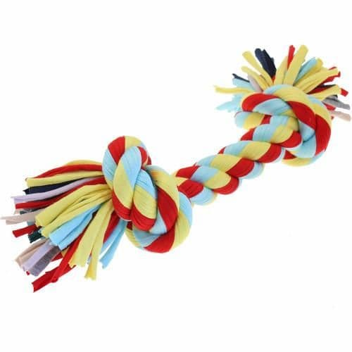 Small Twist Tee Knot Toy