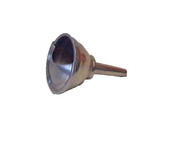 Small alloy filter funnel