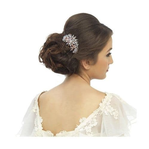 Meila Rose Gold  Hair Comb
