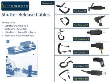 Shutter Release Cable (select type)