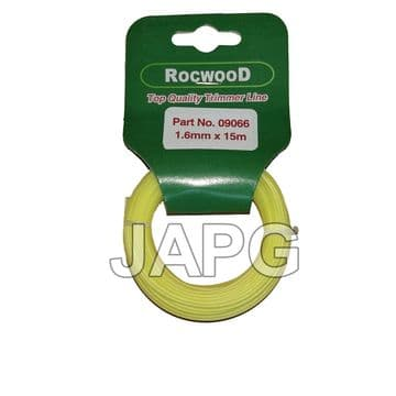 1.6mm x 15m Professional Quality Strong Nylon Grass Trimmer Strimmer Line 1.5mm ( ROUND PROFILE )