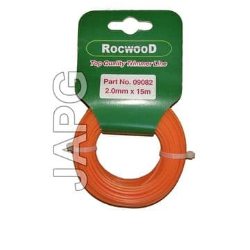 2mm x 15m Professional Quality Strong Nylon Grass Trimmer Strimmer Line 2.0mm ( ROUND PROFILE )