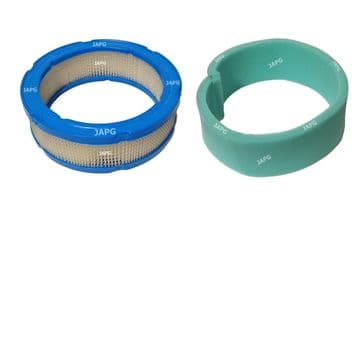 Air Filter & Pre Filter Set, Briggs and Stratton 394018S, 392642, 272490S Vanguard 18hp Engines