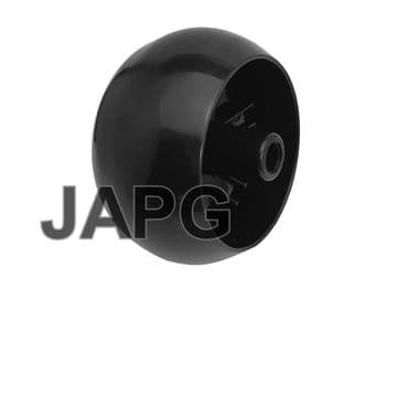 Anti Scalp Deck Wheel, fits some MTD, Lawnflite Ride On Mowers Part 734-04039, 734-3058B, 753-0485