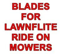 Blades for Lawnflite Ride On Mowers