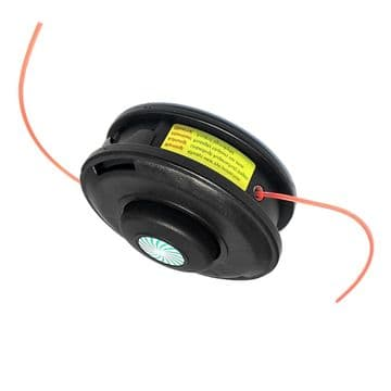Bump Feed Trimmer Head, Lawnflite VS255S, VS255W Brush Cutter Part with 2.4mm Trimmer Line Included