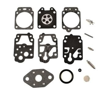 Carburettor Repair Kit, Ryobi RLT430CESB Trimmer, Diaphragms, Gaskets, Needle, Lever