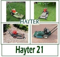 Hayter 21 Rough Cut Lawn Mower Parts and Spares