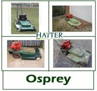 Hayter Osprey Lawn Mower Parts and Spares