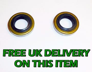 Husqvarna 260CD Chainsaw Crank Shaft / Case Oil Seals Set of 2 Part 503 26 02-04