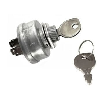 Ignition Switch and keys,  Replaces Stiga Part 1134-1814-01