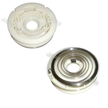 Lower Starter Pulley & Recoil Spring,  Oleo Mac 446 BP ERGO, 453 BP ERGO, BCF430 Cutter 62030010