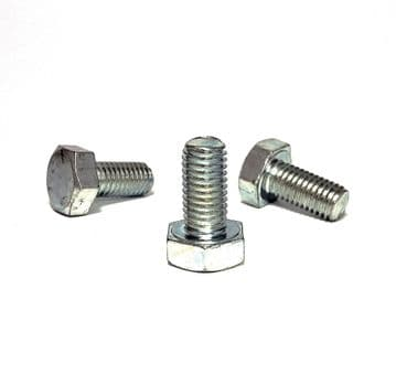 M10 x 1.50 x 20mm LH Left Hand Thread Steel Hex Bolt