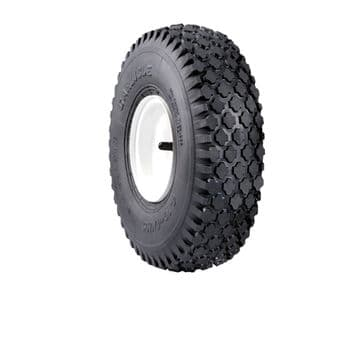 "Mower, Tyre Tire, Size 12"", For 6"" Wheel Rims 4.10-6 CARLISLE Stud Pattern"