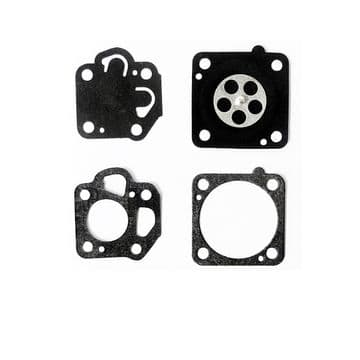 Nikki Carburettor Diaphragm and Gasket Kit Set Parts Fits Mitsubishi, Kaaz, Toro, Snapper, Maruyama Engines, Trimmers 605009-012