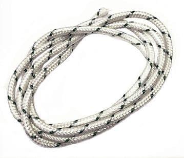 Pull Starter Recoil Cord, 6mm OD, Priced Per Metre Length, For Large Engines