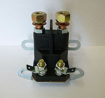 Universal 4 Pole Starter Solenoid Suitable for Sovereign Ride On Mowers