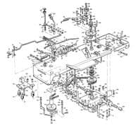 Westwood S800 Underframe parts, gearbox and transmission parts, pulleys and pto parts