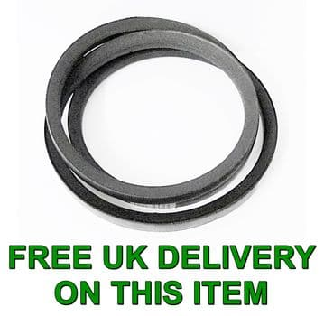 Westwood T1250, T1300, T1400 PGC Sweeper Grass Collector Drive V Belt Part 1464, 22832800