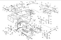 Westwood T1300 Underframe parts, Gearbox and Transmission Parts, Drive Belts, Pulleys, Pto Belts