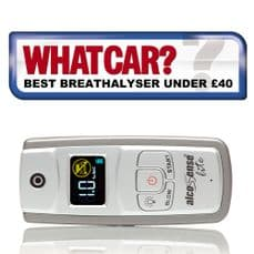 ALCOSENSE BREATHALYSER- LITE - WHAT CAR BEST BUY UNDER £40