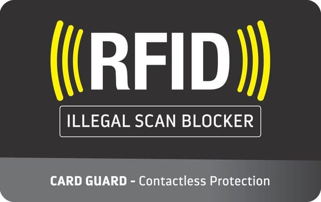 Go Travel Card Guards - RFID Blocking Protector-Reduces Identity Theft (Ref 688)