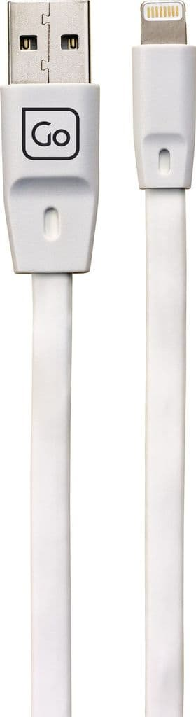 Go Travel Extra Long (2M) USB High Speed Charging Lightning Cable - Apple Certified (Ref 952)