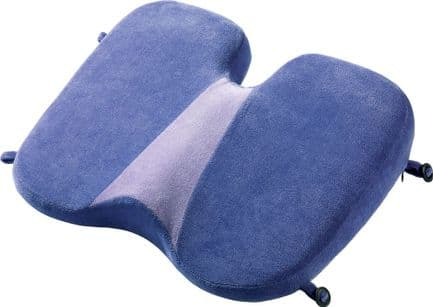 Go Travel High Density Foldable Luxury Memory Foam Soft Seat Pillow (Ref 459)