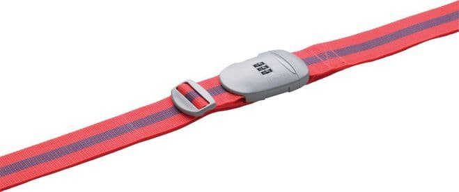 Go Travel Strap 'n Lock Luggage Strap with 3 Dial Combination Lock (Ref 491)