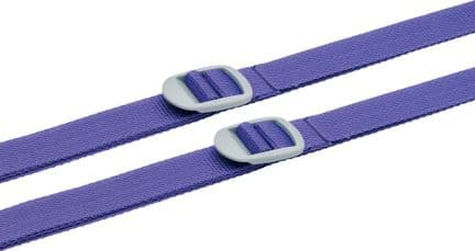 Go Travel Twin Secure & Strong Luggage, Suitcase Straps - 2 per Pack (Ref 225)