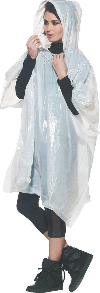 Go Travel Unisex Universal Waterproof Poncho & Carry Pouch - 2 Pack (Ref 818)