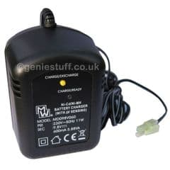 600mAh Smart Battery Charger for 8.4v Airsoft Batteries