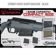 Ares Amoeba Striker Airsoft Rifle Compact Magazine 45RD