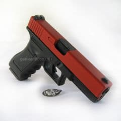 Army R17 (G17) V3 Gas Blowback Red Airsoft Pistol