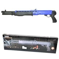 Blue Double Eagle M63 Triple-Shot Airsoft Shotgun