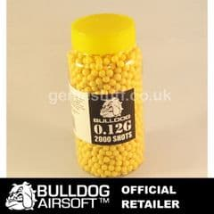 Bull Dog Version 3 Bottle 2000 Airsoft BB 0.12g