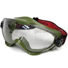 SRC Pro Clear Airsoft Goggles